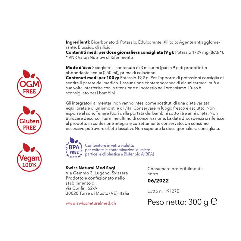 SwissNaturalMed Powerday etichetta