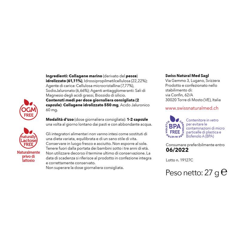 SwissNaturalMed Skincare etichetta