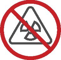 nessuna molecola irradiata