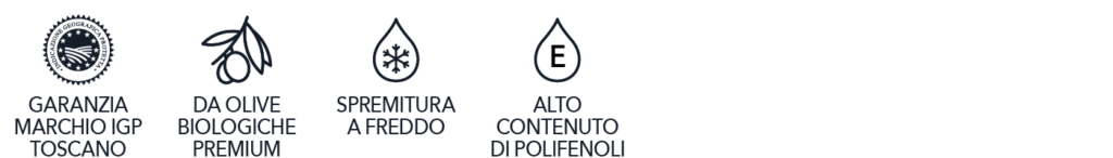 Olio extravergine d'oliva biologico IGP toscano